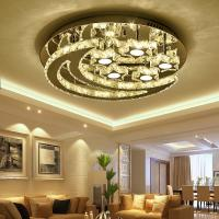 Quality Clear Crystal ceiling lights with Moon For Living room Bedroom Kitchen Lighting Fixtures (WH-CA-48) for sale