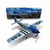 Quality R/C P51 Electric Mustang Airplane RTF, Brushless Motor, Stable Flight in Winds up to 10mph for sale