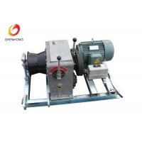 China 3T 5T Electric Gas Engine Powered Winch For Cable Pulling In Line Construction on sale