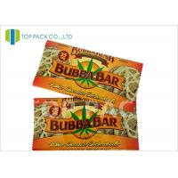 Quality Heat Sealing Printed Laminated Pouches , Back Seal bag Aluminum Foil Cookies for sale