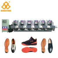 Quality Energy Saving Static Rubber Sole Making Machine Mono Color 5.3*3.5*2.6m for sale