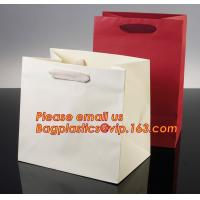 Quality Luxury shopping paper bag, different types design custom paper shopping bag for sale