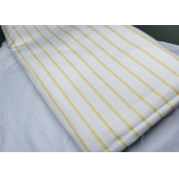 Quality 100% Cotton Yarn Dyed Brushed Flannel Fabric Skin Friendly for sale