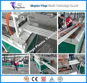 Quality High quality 4pc PVC Corner Bead Making Machine / Plastic PVC profile extrusion production line for sale