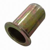 Quality Flat head rivet nut, made of steel  for sale