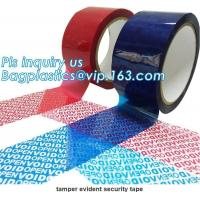 China Adhesive Security Tape Transfer Total Transfer And Non Transfer VOID on sale