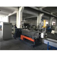 China Screw Feeding Plastic Waste Recycling Machine With Lower Power Consumption on sale