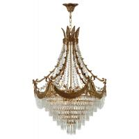 Quality Spray paint brass chandelier Lighting Fixtures Project Hotel (WH-CP-31) for sale