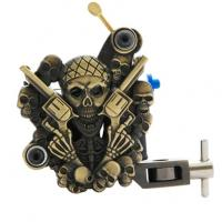Quality Handmade Carbon Steel Empaistic Tattoo Machine with 10 wrap coils for sale