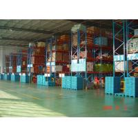 High Capacity Storage Pallet Warehouse Racking / Selective Pallet Racking System
