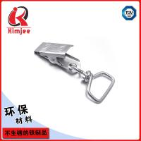 Quality Custom nickel plated lanyard swivel clips for id badges wholesale for sale