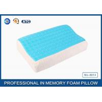 Softest Contour Dream Flat Memory Foam Pillow Stomach Sleeper , gel pillow case