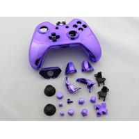 Quality Full Mirror Chrome Housing Shell Case Replacement for XBOX ONE XB1 Wireless Controller - Purple for sale