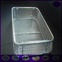 Quality grade 304 medical stainless steel disinfecting basket wholesale for sterilization PRICE for sale