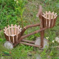 Quality Flowerpot / Wood Flowerpot with Two Pots for sale