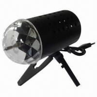 Quality 3W RGB Auto LED Full Color Stage Light, Working Voltage of 85 to 260V for sale
