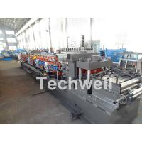Quality Carbon Steel CZ Channel Roll Forming Machine For Thickness 1.5-3.0mm With PLC Touch Screen Control for sale