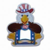 Quality Magnets/Stickers, Customized Shapes and Sizes Welcomed, Suitable for Promotional Gifts for sale