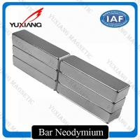 China Grade N52 Neodymium Bar Magnets +/-0.05mm Tolerance ISO9001 Certificated on sale