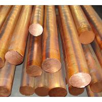 Quality Red copper solid round bar / red copper bar dia 10 - 100mm C11000 C10200 for sale