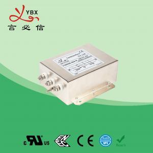 Quality 380V 440V 30A 40A 3 Phase EMC Filter AC Line Filter For Converter for sale