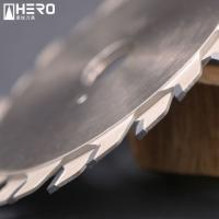 Quality Adjustable Scoring Saw Blade 100mm 120mm Small Diameter Germany 75 CR1 Material for sale