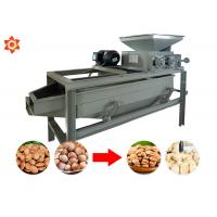 Quality Almond Shelling Peanut Processing Machine 220v Voltage 2.2 Kw Power for sale