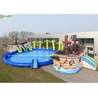 China Strong Huge Pirate Ship Inflatable Pool Toys For Children N Adult on sale
