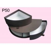 Quality P50 Half Round Chocolate Boxes, Offset Printing Gift Packaging Boxes, Paper Chocolate Boxes, Brown Chocolate Boxes for sale