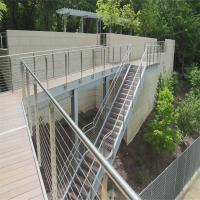 Quality DIY Cable Railing / Wire Rope Railing Balustrade with Stainless Steel Wire Ropes for sale