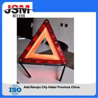 Quality Safety Warning Triangle Reflector 17 Inch Emergency Road Flasher from China for sale