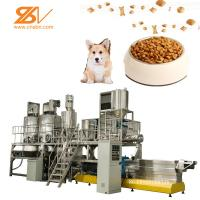 Quality Pet Food Processing Plants Stainless Steel Extruder Machine 250kg/h Capacity for sale