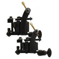 Quality Stainless Steel mini tattoo machine Guns with 10 wraps Coils for sale