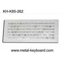 China Water resistant stainless steel Industrial Metal Keyboard without mouse , 85 keys on sale
