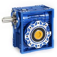 Quality NMRV030 Ratio 10/40/50 B5/B14 Flange pto gearbox gear reducer of speed for sale