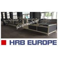 Quality HRB-2800 Model Folder Gluer Machine 2400*1000mm Max Feeding Size CE Approved for sale