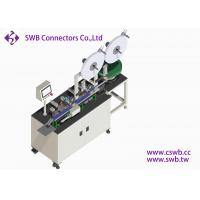 China 1.27mm pitch Automatic Inspection Connector Assembly Machine by SWB AUTOMATION wholesale