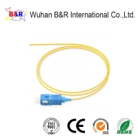 Quality 1 Core SC G657A Fiber Optic Pigtail For FTTx Solution for sale