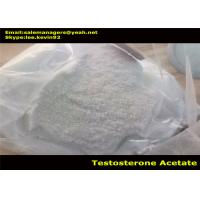 China Healthy Testosterone Acetate Powder / Test Ac Cas 1045-69-8 For Bodybuilder on sale