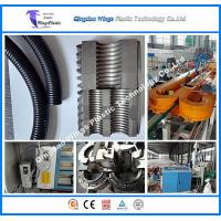 Quality Plastic Corrugated Hose Making Machine PA PE PVC PP Flexible Single Wall Corrugated Pipe Manufacturing Machinery for sale