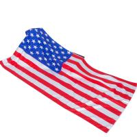 Quality Custom sublimation National flag printed promotional beach towel microfiber for sale