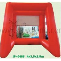 Quality inflatable products factory/ inflatable football gate,inflatable soccer football goal gate for sale