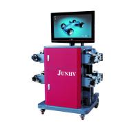Quality 220V Wheel Alignment Machine , 4 Wheel Alignment Equipment With 8 Beam for sale