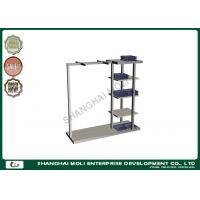 Quality Commercial large capacity garment display shelf , retail store clothing racks for sale