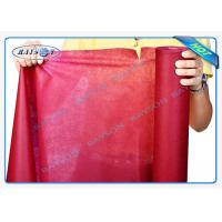 Buy Precut Roll TNT Tablecloth Supermarket Disposal Non Woven Fabric at wholesale prices