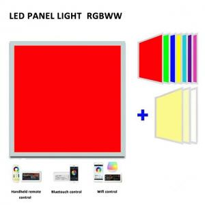 Quality Indoor SMD5050 Rgb IP20 54W 72W Square Led Panel Light for sale