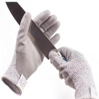 China Level 5 Industrial Cut Proof Work Gloves Pu Coated Gloves Sample Freely on sale