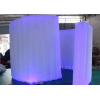 China Display Inflatable Photo Booth Wall 9.82 Ft Length AC 110 / 220 V Supply Voltage on sale