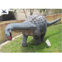 Quality Zoo Playground Dinosaur Lawn Decorations Robotic Life Size Dinosaur Models for sale