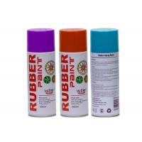 Quality Abrasion Resistance Silicon Based Aerosol Spray Paint Liquid Rubber Spray for sale